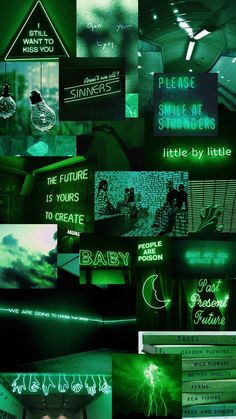 green neon bro these images are not my own, credits to their creators
