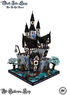 ~ Lego MOCs Fantasy ~ All Hallows Keep   by - Derfel Cadarn -