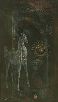La Jaca by Leonora Carrington , 1961