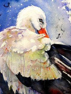 Amazing watercolorist Gerard Hendricks