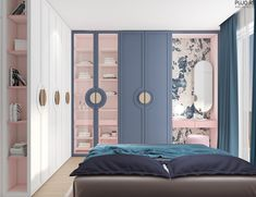 Living Room And Kitchen Design, Living Room Designs, Teenage Room Designs, Design Apartment, Master Bedroom Design, Luxurious Bedrooms, Beautiful Bedrooms, House Design, Design Design