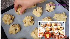 Super jablkové sušienky s hrozienkami: Sú úplne jednoduché a za chvíľku upečené – milujú ich deti aj dospeláci! Bellisima, Biscotti, Great Recipes, Cauliflower, Cake Recipes, Muffin, Food And Drink, Low Carb, Sweets