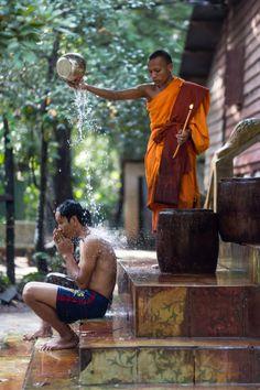 Cambodian monk by Jeremie Tardieu on 500px