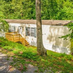 2006 Clayton Singlewide with 1 bedroom, with bonus room, 2 bathrooms on 1.49 acres of land. This home features new carpet, a new deck, and new paint. Buying A Mobile Home, Mobile Homes For Sale, Single Wide, New Deck, New Carpet, Land For Sale, Acre, Bathrooms, Paint