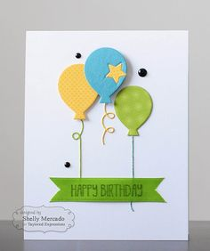 TE Stamp of the Month—Birthday Bash with dies called Party Time