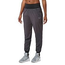Loose and comfortable, these pants are designed to give you the ultimate performance in all your dance and studio workouts. They feature moisture-wicking material to keep you dry and comfortable, plus a loose construction for optimum freedom of movement.  Features   86% Polyester, 14% elastane   dryCELL designation for moisture-wicking properties that help keep you dry and comfortable   Foldover waistband  Dual side pockets  Loose fit with closed ankles for optimized freedom of movement…