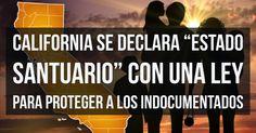 EL GOBERNADOR JERRY BROWN FIRMA LA LEY QUE CONVIERTE A CALIFORNIA EN ESTADO SANTUARIO  El gobernador de California, Jerry Brown, firmó este jueves 5 2017 la ley SB-54, el estado de california se convierte en santuario y amplía la protección para los indocumentados. La norma entrará en vigor el 1 de enero de 2018.  https://paniottolaw.com/noticias/California-Estado-Santuario-Inmigrantes-Indocumentados