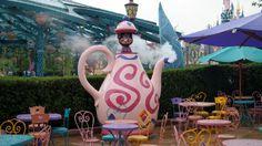 #Disneyland Paris. The March Hare refresments food court restaurant