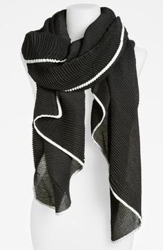 Roffe Accessories Pleat Scarf | Nordstrom