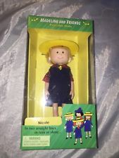 """8"""" Poseable Doll Nicole / Madeline's Friend /new In Box / Eden"""