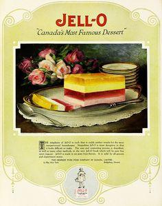 Canada's most famous dessert!  Jello