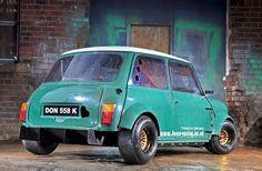 Mini Club - A-Series MiniSpares Force Racing Mini - rear - Drive