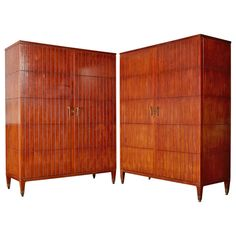 Marvellous Pair of Paolo Buffa Cabinets | From a unique collection of antique and modern cabinets at http://www.1stdibs.com/furniture/storage-case-pieces/cabinets/