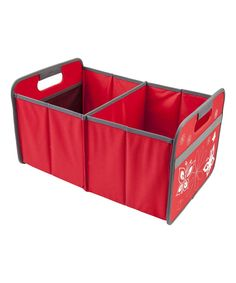 Hibiscus Red Butterflies Foldable Box