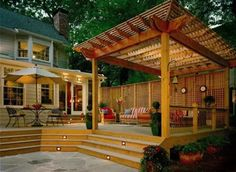 Building A Pergola On A Deck
