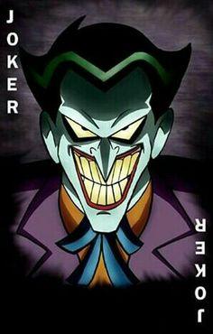 Joker Batman Artwork, Batman Comic Art, Im Batman, Batman Universe, Dc Universe, Joker Pics, Joker Card, Batman The Animated Series, Dc Comics Art
