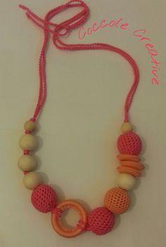 nursing necklace di CoccoleCreative su Etsy