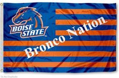 Boise State Broncos Nation Flag
