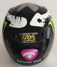 Jorge Lorenzo 200 GP Celebrative Helmet Jerez 2014