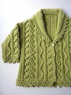 debbie bliss knit baby aran pattern