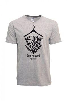 "Ons laatste ontwerp ""Dry Hopped"". Voor de echte hopheads natuurlijk. Shirt is ook als vrouwen shirt te bestellen! Our latest design ""Dry Hopped"". For real hopheads course. Shirt is also as women to order shirt! www.craftbeershirts.net"