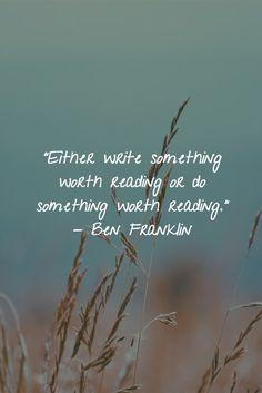 . #write #read #worth