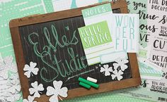 The first peek at the exclusive March kit from Elle's Studio, with their new collection - they make a great pair! Everything launches in their shop on March 10th at 8:00 am PST