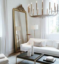 Modern Home Decor Interior Design Home Living Room, Living Room Decor, Living Spaces, French Living Rooms, Dining Room, Living Room Inspiration, Interior Inspiration, Deco Studio, Deco Design