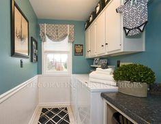 Elegant Laundry Rooms   So elegant for a laundry room   Dream Home