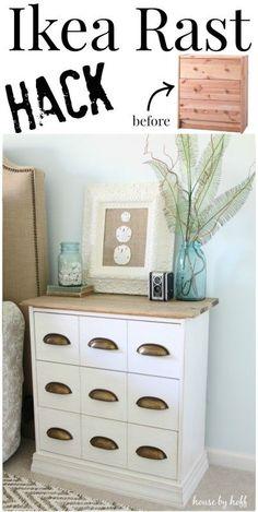 Ikea Rast Hack {A New Bedside Table!}