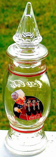 Coca-Cola Apothecary Jar