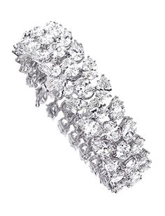 A #diamond #bracelet #christiesjewels