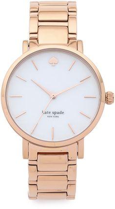 Need this watch!! Kate Spade New York Gramercy Bracelet Watch