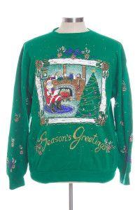 Green Ugly Christmas Sweatshirt 30052