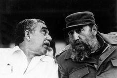 """Fidel Castro le envió una ofrenda floral a su amigo """"entrañable"""" Gabriel García Márquez"""