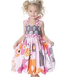 really liking this for the girl's easter dresses