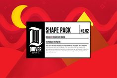 Procreate Shape Brush Pack 02 by Quiver Supply Co. on @creativemarket