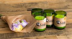 Or these candles made from rescued wine bottles — the profits help support rescued dogs! | 16 Mother's Day Gifts For Moms Whose Favorite Child Is The Dog