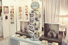 "Love the ""grab a postcard"" idea for wedding fairs/events!"