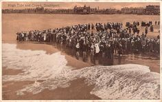 High Tide and Crowd, Southport