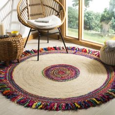 Beautiful living room carpet, Jute Rug colorful rag rug, Meditation rug Chindi rug, Home decor round floor mat Indian Braided Rug Cotton Rug – Round Rugs Living Room Braided Rag Rugs, Jute Rug, Seagrass Rug, Woven Rug, Round Rugs, Floor Rugs, Bohemian Decor, Boho Chic, Rugs On Carpet