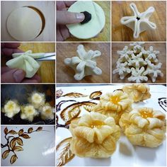 DIY Amazing Puff Pastry Flower