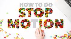 How to Do Stop Motion Photography - her bruges camera. Instruktøren viser ganske langsom hvordan hun gør.