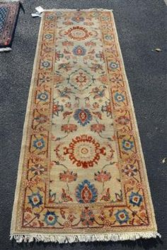 "Mahal rug, 2'8"" x 7'8"" Available in our December 13th Catalog   #Mahalrug #rugs #rug #runners #Mahal"