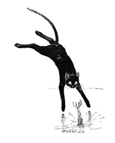 Théophile-Alexandre Steinlen, Cats: Pictures... - Design is fine. History is mine.