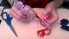 HOW TO: make a Boutique Stacked Bow Tutorial by Just Add A Bow, via YouTube.