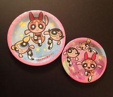 Powerpuff Girls Party Supplies Birthday Plates Dessert Dinner Power Puff