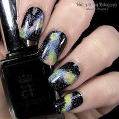 Nail Art by Belegwen: Galaxies