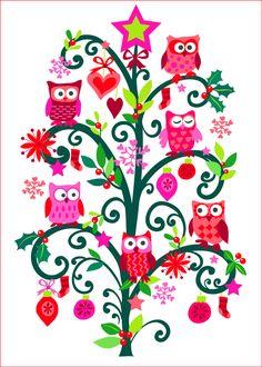 Christmas Card by Cressida Carr
