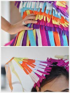 piñata costume diy fiesta halloween cinco de mayo make your own...funny if Ava…
